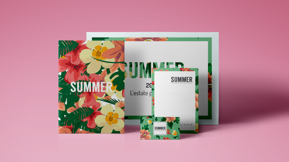 Summer | grafica e design coordinato